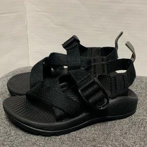 Chaco Black Z/1 Ecotread Nylon Strap Sandal 2